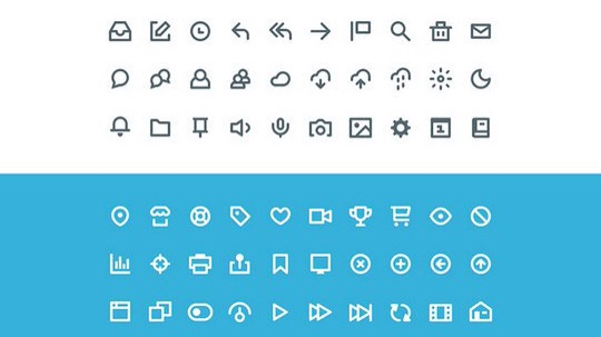 38 Beautiful Icons In PSD For Web Designers