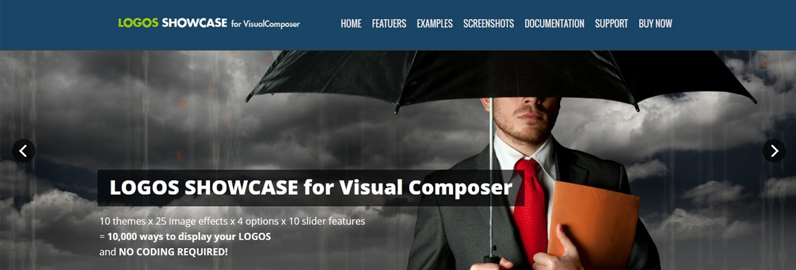 Logos Showcase for Visual Composer WordPress