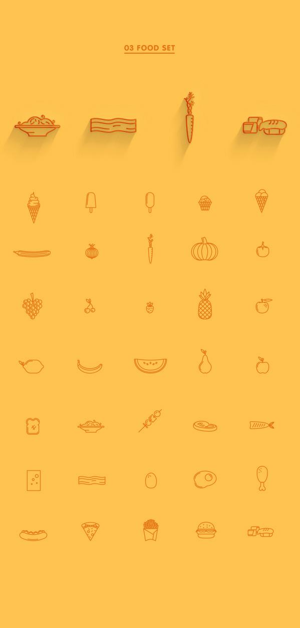 3.Line Icon Sets