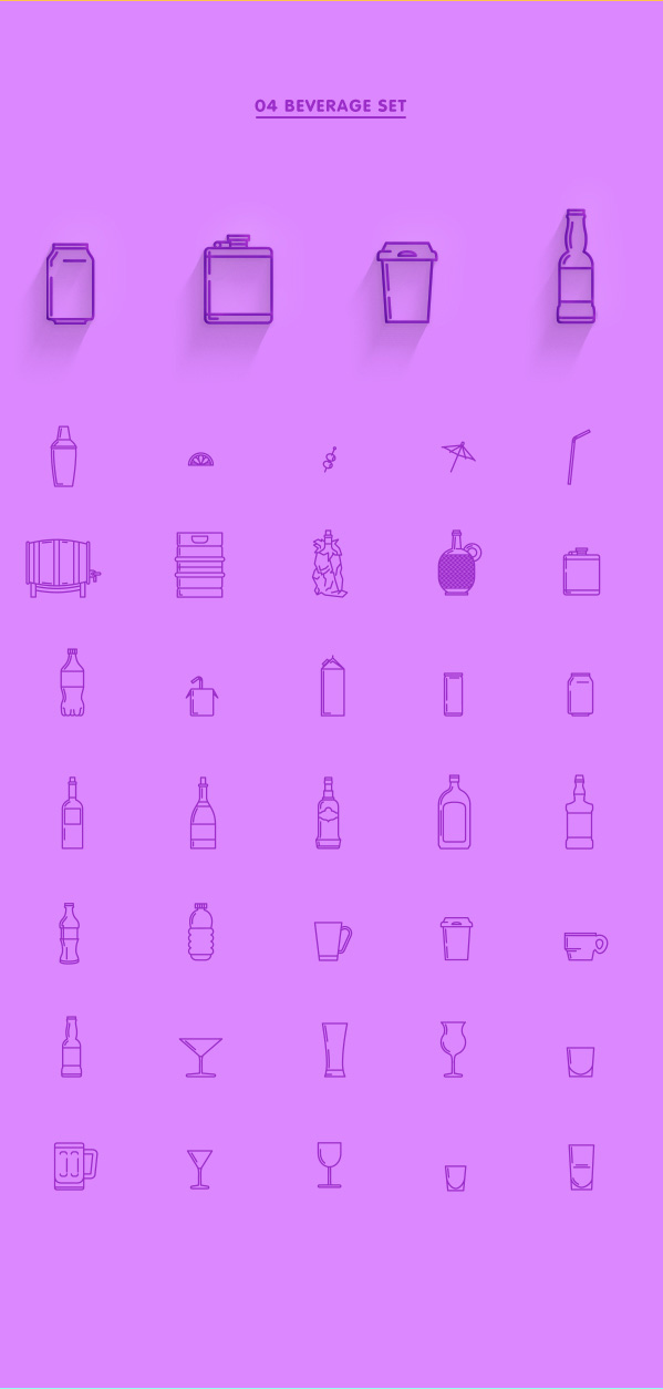 4.Line Icon Sets