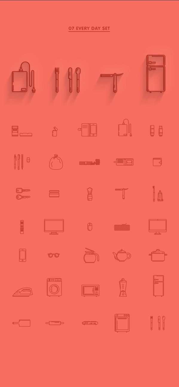 7.Line Icon Sets