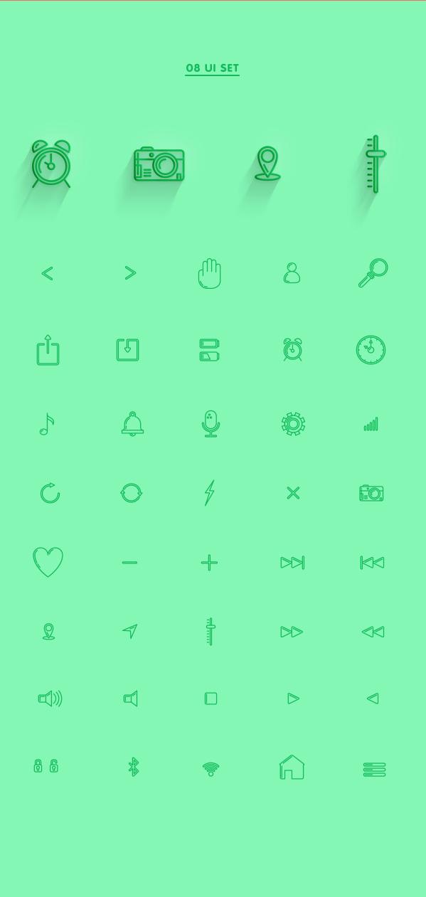 8.Line Icon Sets