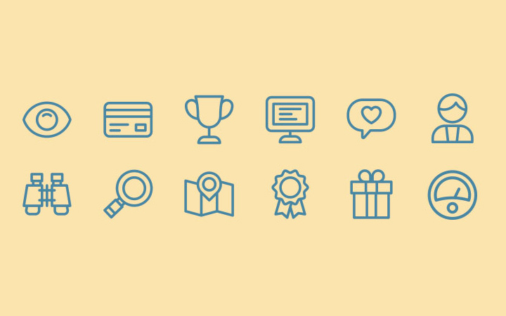dashboard line icons inspiration pack