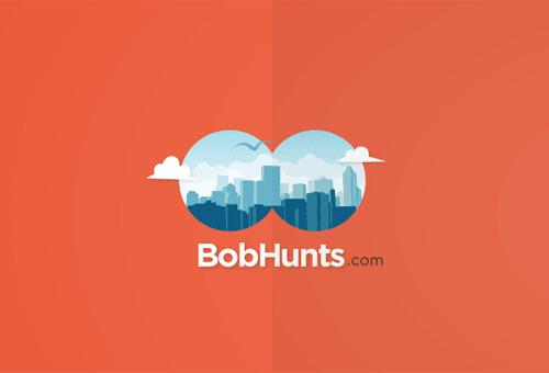BobHunts Logo by Fixed Agency.