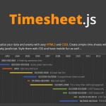 Create HTML Time Sheets with Timesheet.js