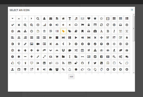 Fontawesome Icon