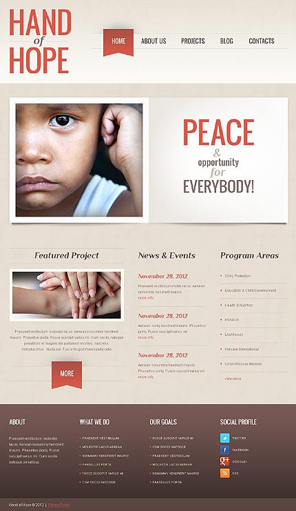 Empathy Charity WordPress Theme