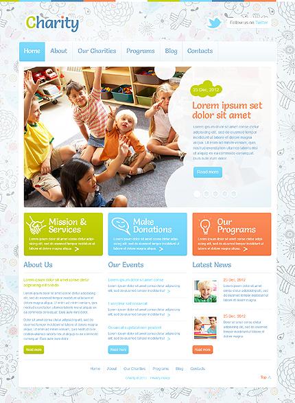 Children Charity WordPress Theme
