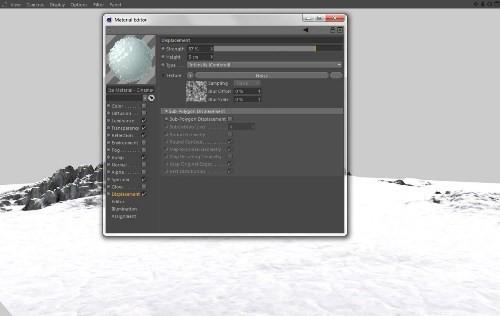 snowy 3d text tutorial psdvault 10 Create 3D Snow Text Effect Using Cinema4D and Photoshop
