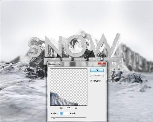 snowy 3d text tutorial psdvault 13 Create 3D Snow Text Effect Using Cinema4D and Photoshop