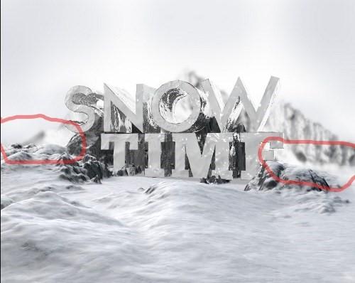 snowy 3d text tutorial psdvault 15 Create 3D Snow Text Effect Using Cinema4D and Photoshop