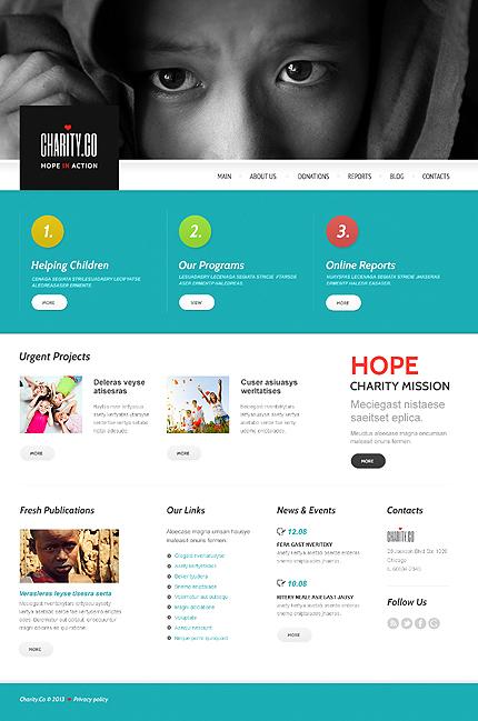 Metaphor Charity WordPress Theme