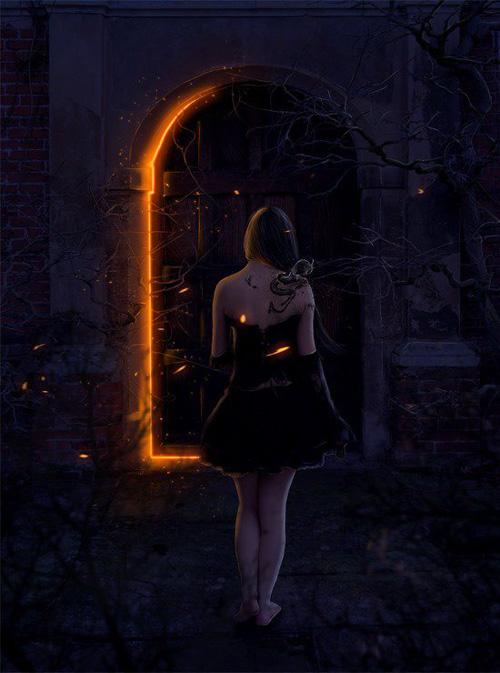 Create this Symbolic Gothic Composite in Photoshop
