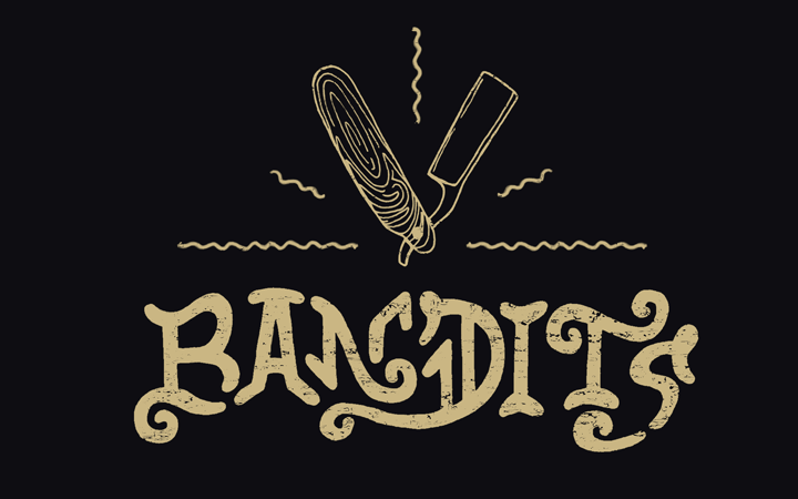 bandits personal branding logo type