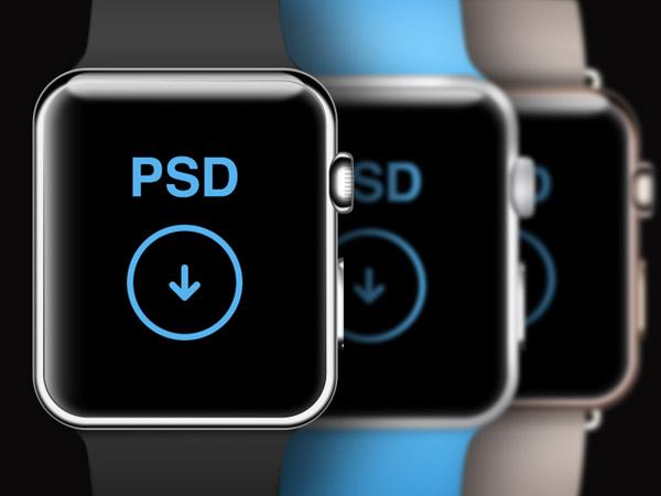  Watch PSD Template by Warren Lebovics