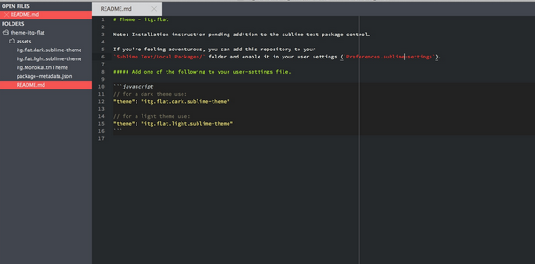 Best sublime text 2 and 3 theme for 2014 7