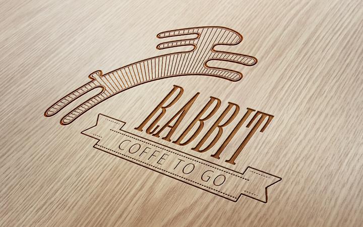 logo rabbit custom branding design