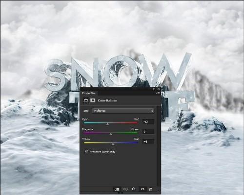 snowy 3d text tutorial psdvault 25 Create 3D Snow Text Effect Using Cinema4D and Photoshop