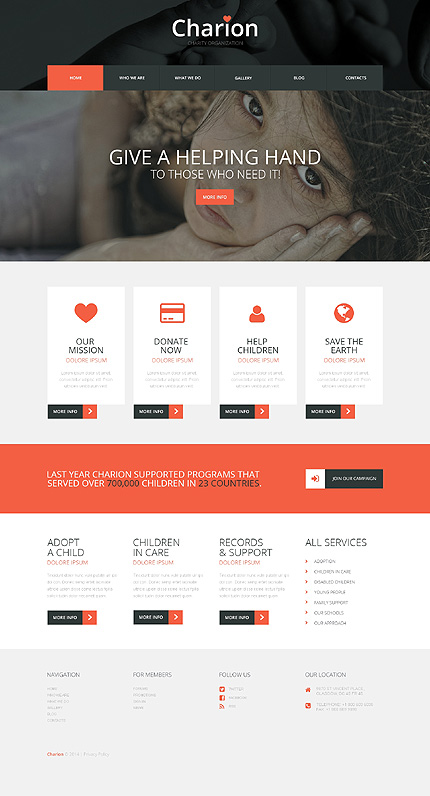 Tender Heart Community WordPress Theme
