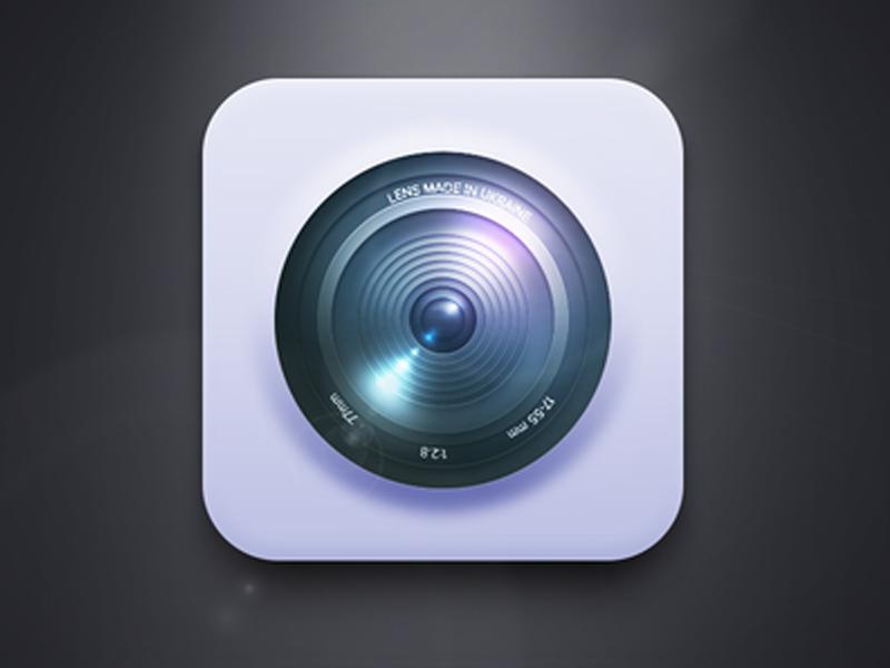 Camera (Free PSD)