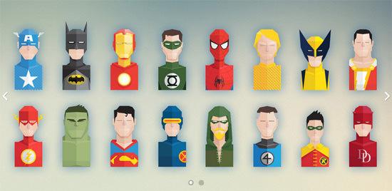 superhero-icons