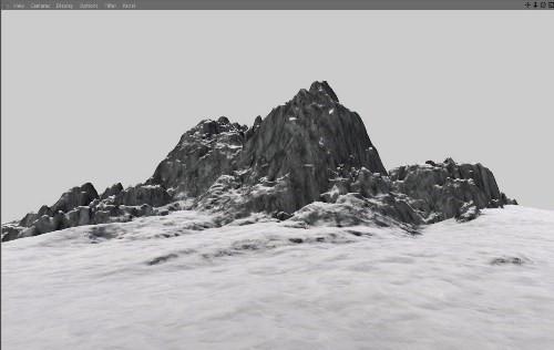 snowy 3d text tutorial psdvault 6 Create 3D Snow Text Effect Using Cinema4D and Photoshop