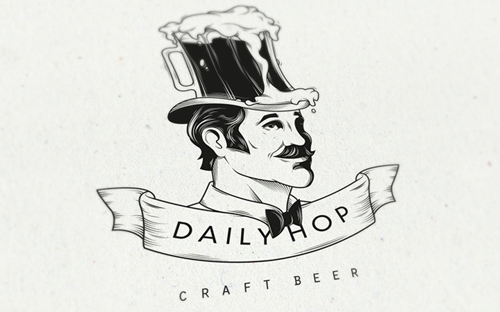 beer craft logo daily hop inspiration