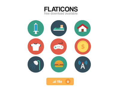 Flaticons full set