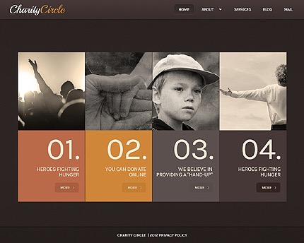 Caring for the Change: Top 20 Charity WordPress Themes