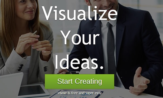 Visme – the perfect tool for visual content creation