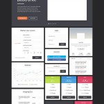 Free UI Kits, Free Photoshop PSD Web Elements for Designers