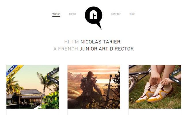 40 Examples of White Portfolio Web Designs for Inspiration