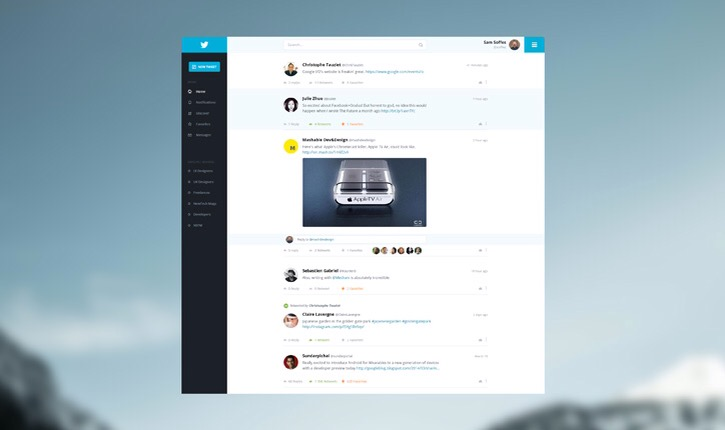 23 Interesting Twitter Redesign Concepts