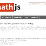 Awesome Math Library for JavaScript and Node.js