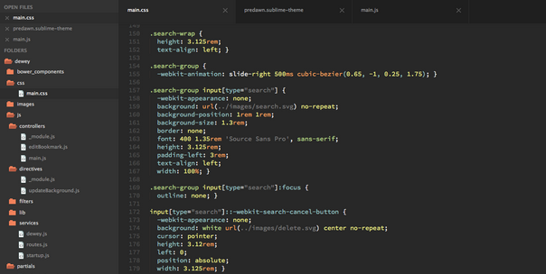 Best sublime text 2 and 3 theme for 2014 4