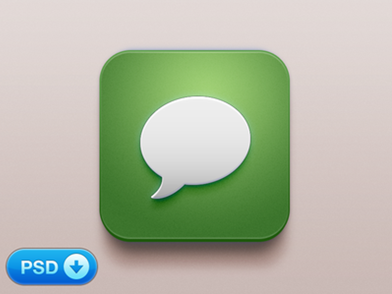 Beautiful Messages iOS Icon