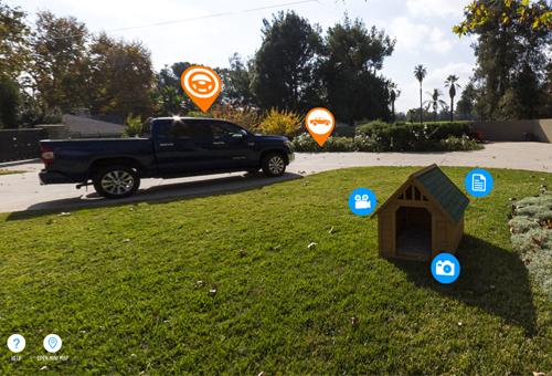Toyota Tundra Interactive Backyard Website