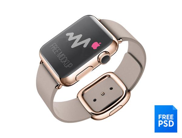 Apple Watch Free Mockup by Murat Gonek