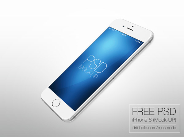 iPhone 6 Free Mock-Up by musmodo