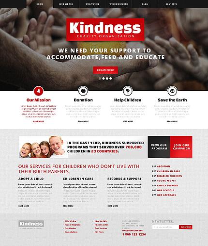 Kind Children Charity WordPress Theme