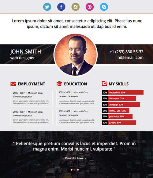 19 free professional resume templates 2014 idevie