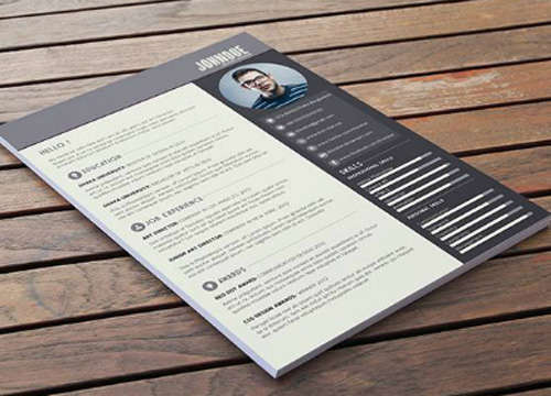 Free Resume / CV Template Download