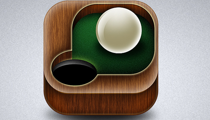 cue ball pool icon design tutorial