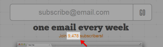 MailChimp Subscriber Count with PHP and MailChimp's API by Louis Lazaris
