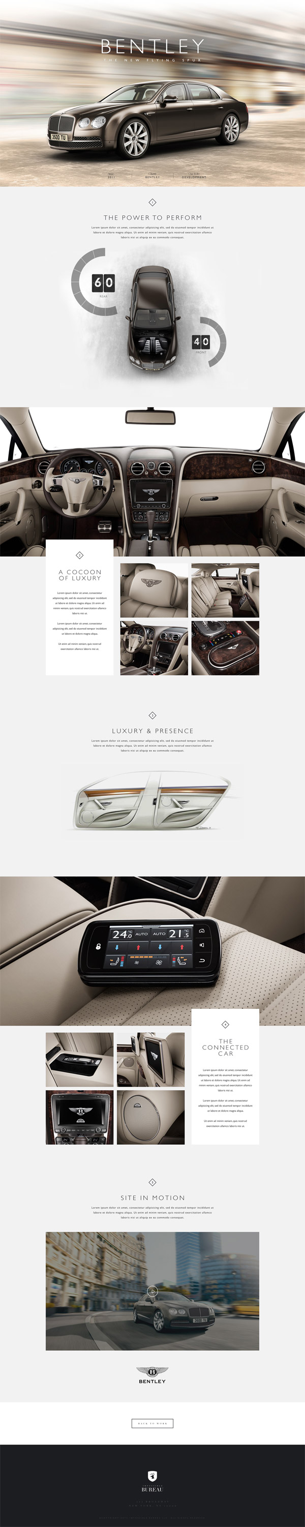 Bentley The New Flying Spur by Impossible Bureau