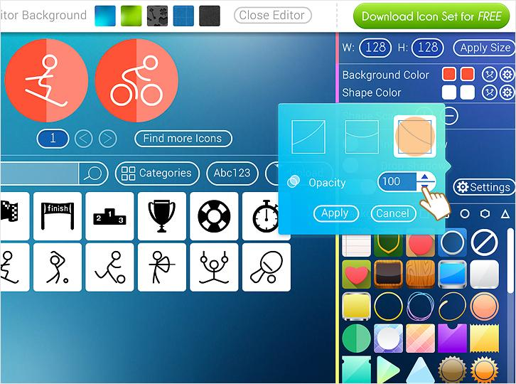 Create Free And Trendy Icon Sets With Freeiconmaker Idevie