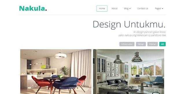 nakula - responsive portfolio theme