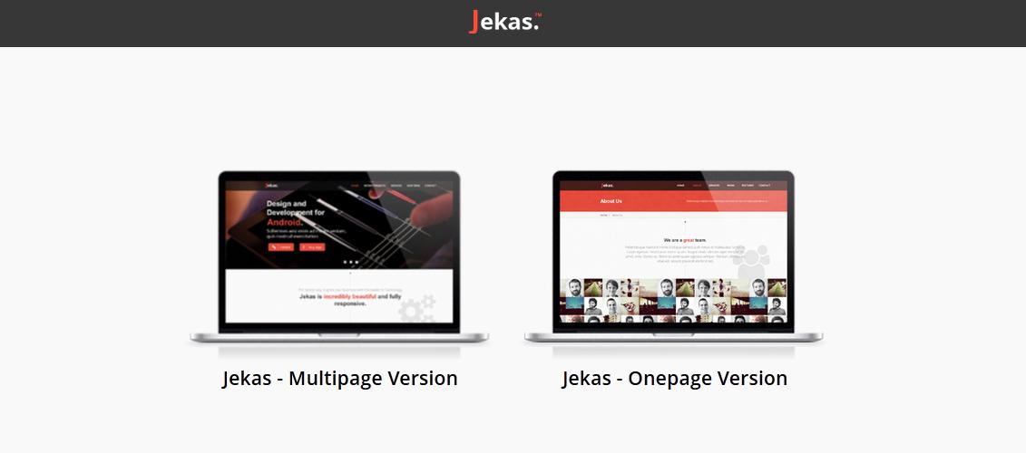 Jekas - Multipurpose Muse Theme
