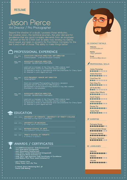 19 free professional resume templates 2014