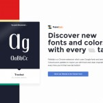 Discover New Fonts and Colors with Every Tab